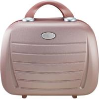 Frasqueira Select- Ros㪠& Nude- 29,5X33,5X16Cm- Jacki Design