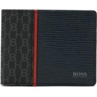 Boss Carteira Com Logo - Azul