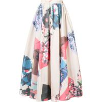 Roksanda Maia Printed Skirt - Neutro
