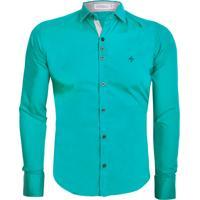 Camisa Unyforme Social Slim Verde