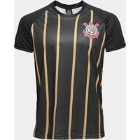 Camisa Corinthians Gold Nº10 - Edição Limitada Masculina - Masculino