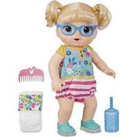 Boneca Sapatinhos Brilhantes Bebê Passos E Sorrisos Loira Que Fala Com Acessórios - Unissex-Colorido