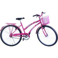 Bicicleta Feminina Aro 26 Com Cestinha Susi - Feminino