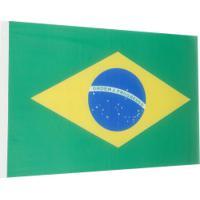 Bandeira Do Brasil Print Mixx P - 102Cm X 67Cm - Verde/Amarelo