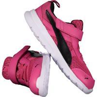 Tênis Puma Flex Essential V Infantil Feminino Pink