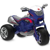Moto Elétrica - 12V - Super Moto Gt Turbo - Azul - Bandeirante