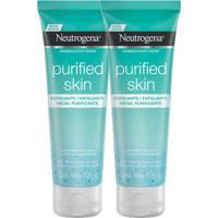 Kit 2 Esfoliantes Facial Neutrogena Purified Skin 100G - Kanui