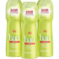 Ban Kit Desodorante Antitranspirante Roll-On 103Ml Trio - Regular