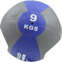 Medicine Ball Com Manopla Ahead Sports 9Kg - Unissex