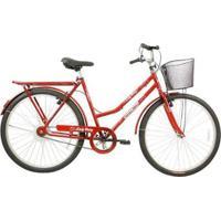 Bicicleta Mega Bike Lady Mary Aro 26 Freio V-Break Quadro Aço - Unissex