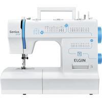 Máquina De Costura Jx4035 Genius Plus 127V- Elgin - Branco