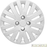 Calota Aro 14 Volkswagen - Grid - Gol/Saveiro/Voyage G5 2009 Até 2012 - Modelo Trend - De Parafuso - Leia A Descrição Detalhada - Prata - Cada (Unidade) - 009