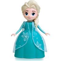 Boneca Disney Frozen - Rainha Elsa Com Sons - Elka - Feminino
