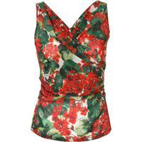 Dolce & Gabbana Blusa Estampada - Vermelho