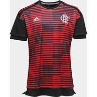Camisa Flamengo Pré Jogo - Torcedor Adidas Masculina - Masculino