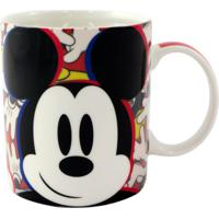 Caneca Mickey E Minnie Colorida