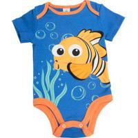 df73828cab2fe8 Body - Manga Curta - Procurando Nemo - Nemo - Disney - M