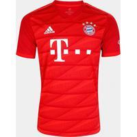 Camisa Bayern De Munique Home 19/20 S/N° Torcedor Adidas Masculina - Masculino