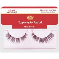Cílios Naturais Expressão Facial Attractive Nº1
