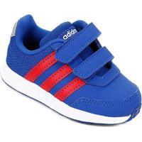 Tênis Infantil Adidas Vs Switch 2 Cmf - Unissex-Azul Royal+Vermelho