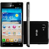 "Smartphone Lg Optimus 4X Hd P880 Preto - 8Mp - 16Gb - Desbloqueado - Tela 4.7"" - Android 4.0"