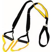Fita De Suspensão Trx Para Treinamento Suspenso Amarelo Natural Fitness - Unissex