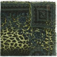 Versace Lenço Com Estampa 'Wild Baroque' - Verde