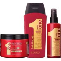 Revlon Professional Uniq One All In One Kit - Creme + Shampoo + Máscara Kit - Unissex-Incolor