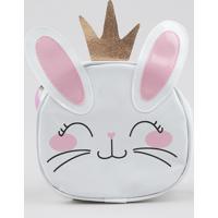 Bolsa Infantil Coelha Branca - Único