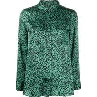 Equipment Blusa Com Estampa - Verde