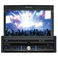 """Dvd Player Positron Sp-6111Av Tela 7""""Retrátil Usb Cd Mp3 Wma"""