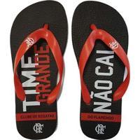 6e01ff5b9 Netshoes; Chinelo Flamengo Infantil Time Grande Não Cai - Unissex