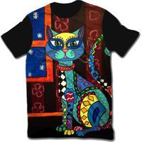 Camiseta Ramavi Delicate Cat Pret