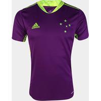 Camisa De Goleiro Cruzeiro Ii 20/21 S/N° Torcedor Adidas Masculina - Masculino