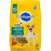 Ração Para Cães Pedigree Adulto Raças Pequenas 1Kg