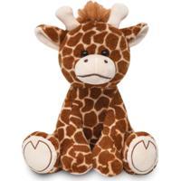 Pelúcia - 25 Cm - Minha Girafinha - Buba - Unissex-Incolor