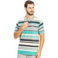 Camisa Polo Listras Rovitex Azul