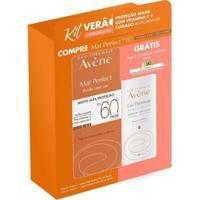 Avène Mat Perfect Eau Thermale Kit – Protetor Solar Com Cor + Água Termal Kit - Unissex-Incolor