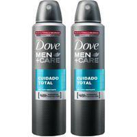 Kit 2 Desodorantes Dove Men+Care Antitranspirante Aerossol Clean Comfort 150Ml