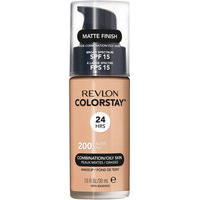 Base Líquida Revlon Colorstay 24 Horas Pele Mista À Oleosa Fps 15 - Skin Nude Único