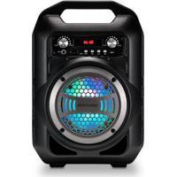 Caixa De Som 6 Em 1 Bluetooth 50W Rms Karaokê Rádio Fm Multilaser - Sp255 Sp255