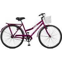 Bicicleta Master Bike Aro 26 Feminina Kamilla Manual Roxo