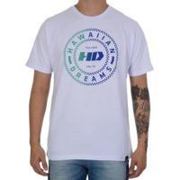 Camiseta Hd Traditional Masculina - Masculino-Branco