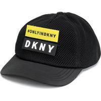 Dkny Kids Boné Com Logo - Preto