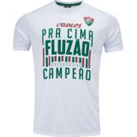 Camiseta Do Fluminense Follow 19 - Masculina - Branco