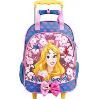 Mochila De Rodinhas Princesas Disney Aurora