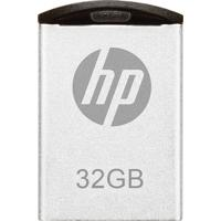 Pendrive Mini Hp Hpfd222W-32P V222W Usb 2.0 32Gb Prata