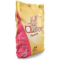 Ração Para Gatos Filhotes Quatree Gourmet Sabor Carne E Leite 1Kg