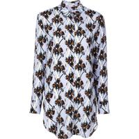 Dorothee Schumacher Camisa De Seda Com Estampa Floral - Roxo