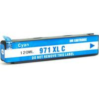 Cartucho De Tinta Hp 971Xl | X476Dw | X451Dw | Cyan Compatível 120Ml